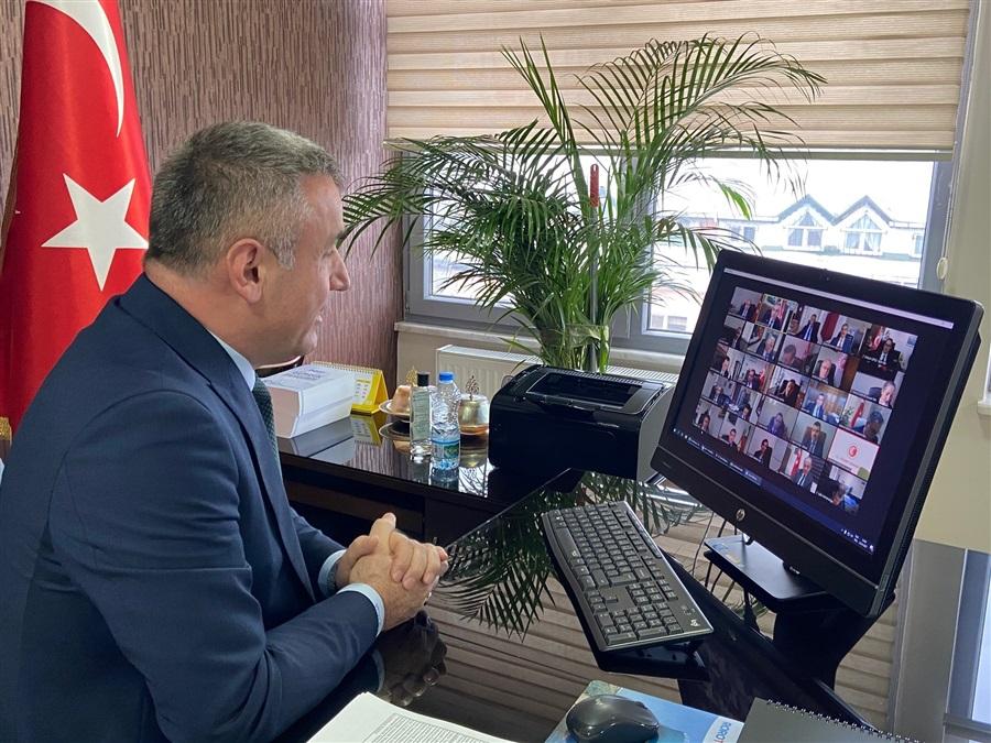 30. İdare Amirleri Toplantısı Video Konferans ile Gerçekleştirildi